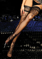 Ballerina Hebe Lace Top Hold Ups Zoom 2