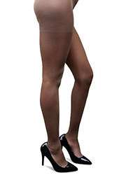 Brown Skin Essentials Cafe Brown Tights Zoom 2