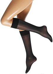 Cette Boston 30 Semi Opaque Plus Size Knee Highs Zoom 3