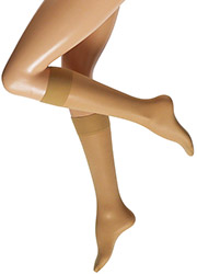 Cette Boston 30 Semi Opaque Plus Size Knee Highs Zoom 2