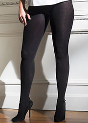 Cette Sochi 120 Denier Plus Size Cotton Tights Zoom 2