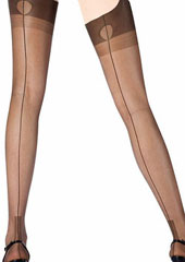 Cervin Havana Couture 15 Fully Fashioned Stockings Zoom 2