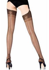 Cervin Havana Couture 15 Fully Fashioned Stockings Zoom 1