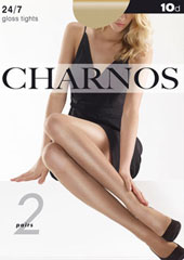 Charnos 24/7 Sheer Gloss Tights 2 Pair Pack