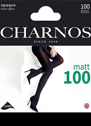 Charnos 100 Denier Opaque Tights Zoom 2