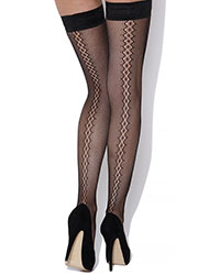 Charnos Backseam Net Hold Ups Zoom 1