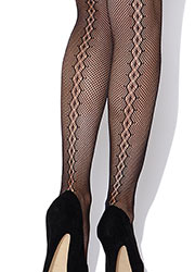 Charnos Backseam Net Hold Ups Zoom 2