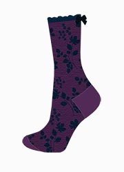Charnos Bamboo Floral Socks Zoom 2