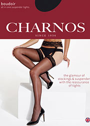 Charnos Boudoir All In One Suspender Tights