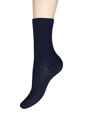 Charnos Cashmere Cable Socks Zoom 2