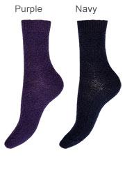 Charnos Cashmere Fairisle Socks Zoom 3