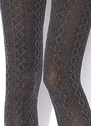Charnos Cotton Cable Tights Zoom 2