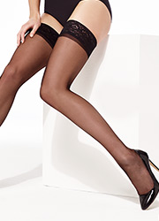 Charnos Elegance Lace Top Hold Ups Zoom 2
