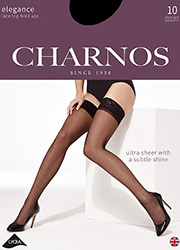 Charnos Elegance Lace Top Hold Ups Zoom 1