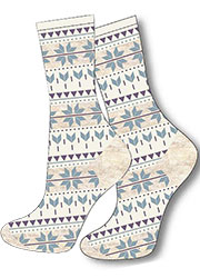 Charnos Fairisle Socks