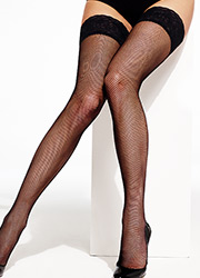Charnos Fishnet Hold Ups Zoom 2