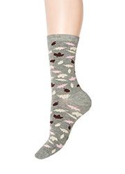 Charnos Leaf Print Socks