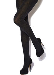 Charnos Marl Cotton Tights Zoom 1