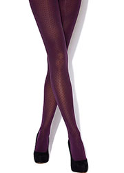 Charnos Mini Spot Opaque Tights Zoom 4