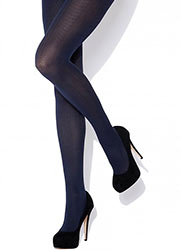 Charnos Seasonal Chevron Opaque Tights