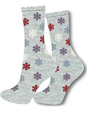 Charnos Snowflake Placement Socks