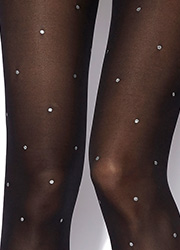 Charnos Sparkle Spot Tights Zoom 2