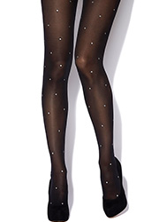 Charnos Sparkle Spot Tights Zoom 1