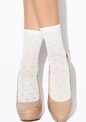 Charnos Spotty Ankle Highs Zoom 1