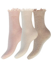 Charnos Cashmere Lace Top Sock