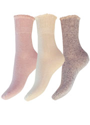 Charnos Cashmere Ruffle Sock