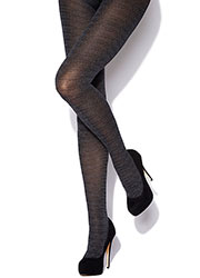 Charnos Tweed Opaque Tights Zoom 1