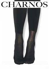 Charnos Velour Lined Tights With Cotton Boot Sock Zoom 2