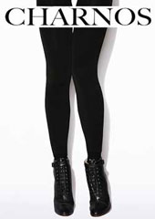 Charnos Velour Lined Tights With Cotton Boot Sock Zoom 1