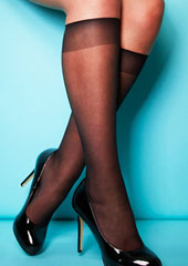 Charnos XeLence 15 Denier Sheer Knee Highs Zoom 2