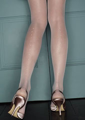 Charnos Bridal Pearl Backseam Tights