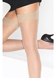Cindy 10 Denier Ultra Sheer Stockings Zoom 2