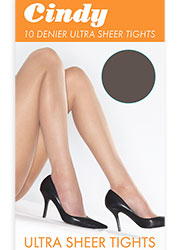 Cindy 10 Denier Ultra Sheer Tights