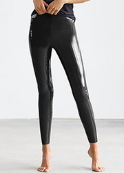 Commando Perfect Control Faux Patent Leather Leggings