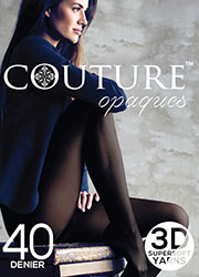 Couture 40 Denier Opaque Tights Zoom 1