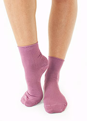 Couture Bamboo Rich Roll Top Ankle Socks 3 Pair Pack