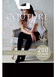 Couture Cotton Supersoft Tights Zoom 2
