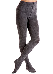 Couture Fashion Fleece Melange Tights Zoom 3