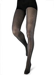 Couture Fashion Glitter Opaque Tights