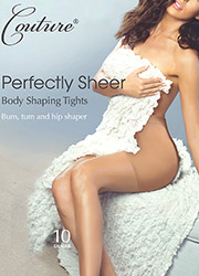 Couture Perfectly Sheer 10 Denier Body Shaping Tights Zoom 1