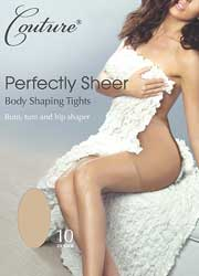 Couture Perfectly Sheer 10 Denier Body Shaping Tights