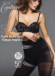 Couture Shapers 50 Tum Bum And Thigh Tights