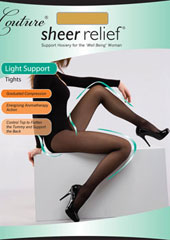 Couture Sheer Relief Light Support Tights