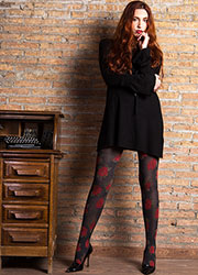 Cecilia de Rafael Bouquet Fashion Tights Zoom 3