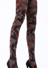 Cecilia de Rafael Camouflage Tights Zoom 2