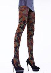 Cecilia de Rafael Camouflage Tights Zoom 1